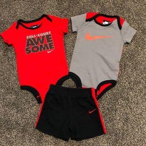 6-9 month Nike matching set
